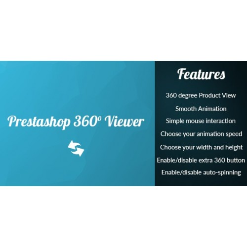 Prestashop 360 Product Viewer