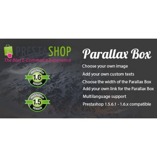 Prestashop Parallax Box Module