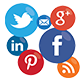 Social Media Buttons and Icons